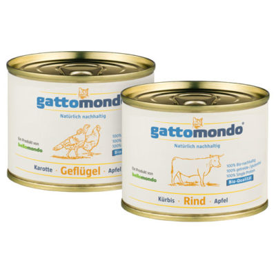 Feuchtfutter für Katzen