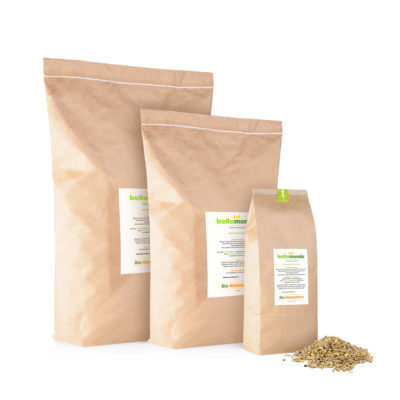 bellomondo Bio Tiernahrung Hühnerfutter Hennenkorn 1500g 7500g 15kg